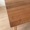 無印良品の無垢材テーブルを誤解していたのです。