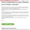 スペイン版グルーポンで久々にAvios買ったら有効化フォームが変わってた話(遅)