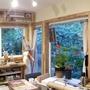 メープルの立ち直り・染色スタジオの内装