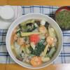 今日のお昼は中華飯