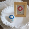 5月11日(土)「ハーダンガー刺繍で作るお花のブローチ/フレーム」ワークショップのご案内