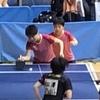 ひかる選手・みさき選手(白子高校)の東京オープン2019東京卓球選手権