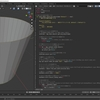 Blender2.8で利用可能なpythonスクリプトを作る その24(メッシュ情報から辺と面の選択)