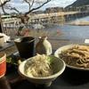 嵐山花灯路旅行・・食事には、周りの雰囲気も大事です