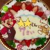 世界にひとつだけ☆年に一度のお誕生日だからオリジナルのケーキでお祝いを♬