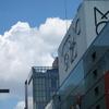 百貨店のある風景『松屋銀座と銀座三越~銀座中央通り~』