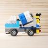 レゴ:ミキサー車の作り方 (オリジナル) クラシック10696だけで作ったよ