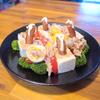 【オッサンの糖質制限】4月29日(木曜日) うめ子サラダの再現