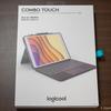 【logicool】iPad用のトラックパッドキーボード(COMBO TOUCH)がきたー【iK1093BK】