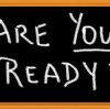 準備はいいですか?