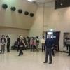 踊りの練習をする破目に。。