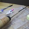 バスロッドを改造して穴釣りロッド制作!
