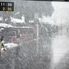 大雪の中、力走する都道府県対抗女子駅伝。京都が3年ぶり優勝。
