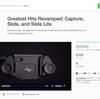 PeakDesignの人気アイテムCAPTURE、SLIDE等が再設計されてKickstarterに登場!