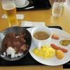 クロアチアへの出発時の成田空港で食べたJAL特製オリジナルビーフカレー