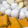 Aさん作・蒸し根野菜