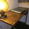 イケアのテーブルをDIY!木材買ってきて机の天板を作成したよ。