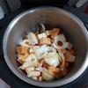 ホットクックで厚揚げと大根の煮物(醤油+白だし)のレシピに挑戦