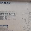 BONMACのコーヒーグラインダーのレビュー