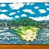 絵描き 『青春交差点(鴨川デルタ)』