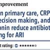 ACPJC:質改善 プライマリケアではCRPとSDMとプロカルシトニンが急性気道感染症への抗菌薬処方を減らす