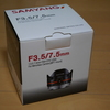 SAMYANG F3.5/7.5mm Micro Four Thirds mount
