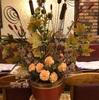 お店のお花も秋バージョンに