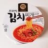 【韓国 お土産 インスタント麺】GS25限定 ≺PALDO≻「オモリ キムチチゲラーメン(오모리 김치찌개라면)」