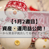 1月第2週目 資産・運用益公開~資産1000万円の道~