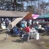 猪苗代湖で仲間とキャンプ( ^ω^ )