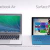 Microsoft、MacBook Airと比較したSurface Pro3の新CMを3本一気に公開