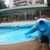【子連れ】伊香保温泉 ホテル天坊③ 館内案内、プール、ゲーセン、キッズルーム、足湯など