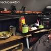 1泊車中泊 仕事後の近江平野/自作 バンコン キャンピングカー 〜われは湖の子、さすらいの〜