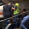 「マンハッタン近郊、ホーボーケンでの鉄道事故」にショック…。