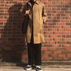ユニクロでブロックテックステンカラーコートを買いました。