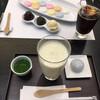 鶴屋吉信のカフェIRODORI