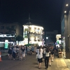 韓国旅行二日目(8)。若者の街、弘大を夜歩き。京義線ブックストリート。地下鉄駅で絶望