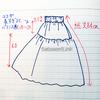 【ないなら作ればいいじゃないか】1段切り替えロングスカート作り方【スカート】【作り方】【型紙不要】