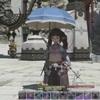 【FF14】パッチ5.2の新たなオシャレ系機能、傘がいいですね!
