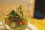 【火を使わないレシピ】簡単おつまみ「ほたて貝ひもとトマトのレモンマリネ」の作り方