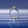純白の花嫁さまへ「LOTUS/ロータス」(高松 新作 エンゲージリング マリッジリング