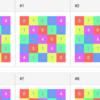 ラテン方格と数独をSAT Solverで生成 (JavaScript logic-solver)