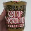 #304 日清 カップヌードル 肉食リッチ 贅沢肉盛り担々麺