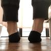 靴底を見て骨の歪みが分かる。