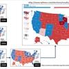 アメリカ大統領選 : 塗り絵で理解する民意