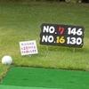 2007年夏のゴルフ合同練習会 花湯の森ショートコース。
