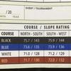 ゴルフコースの難しさを具体的な数字で示すスロープシステムをもっと意識してみよう。新しい発見があるかも…