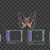 OSCを使って蝶をパタパタ