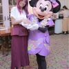 ♡ ネイルが気になるミニーちゃん in エンチャ @ 香港ディズニー ♡