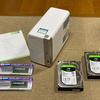 自宅のNASをQNAP「TS-251B」に買い替え。メモリ増設から初期設定のお話